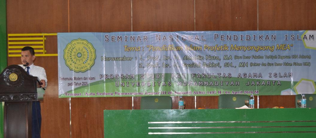 Seminar Nasional Pendidikan Islam